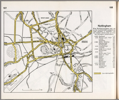 Browse All Images Of Nottingham England David Rumsey