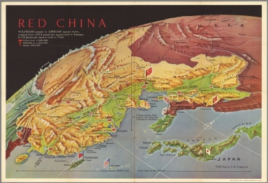 chapin jr rm time red china 1955 separate map