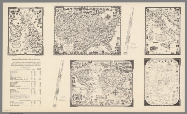 Text: The Ernest Dudley Chase decorative pictorial novelty maps