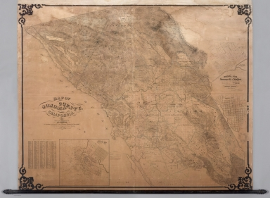 Map Of Sonoma County California.