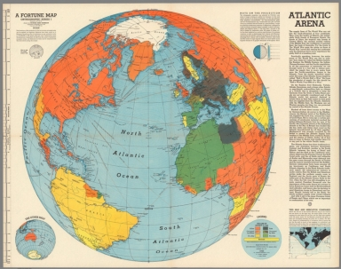 Atlantic Arena. A Fortune map : Orthographic series I