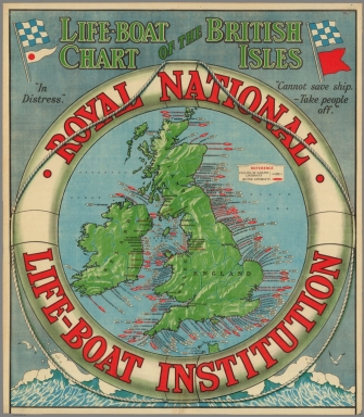 Life-Boat Chart of the British Isles