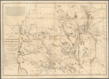 Old Territory and Military Department of New Mexico... revised and corrected to 1867
