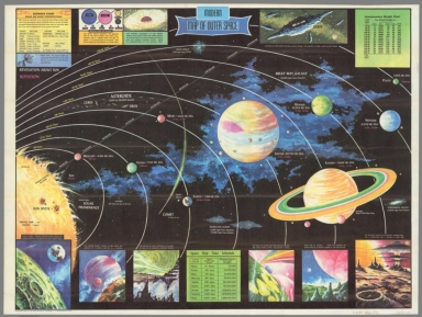 Rand McNally official map of the Moon