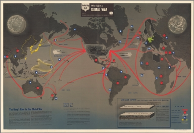 Browse All : Separate Map of World from World War II - David Rumsey ...