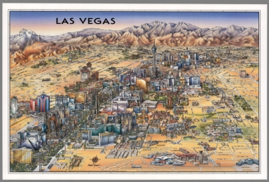 Browse All : Pictorial map of Las Vegas %28Nev.%29 - David Rumsey ...
