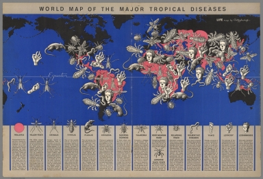World Map of the Major Tropical Diseases.