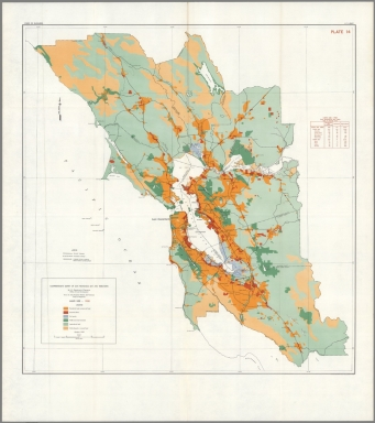 Browse All Land Use and Case Map of San Francisco Bay Area