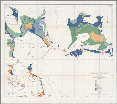 Plate 20, Sheet 1. Present Use of Reclaimed Land - 1958.