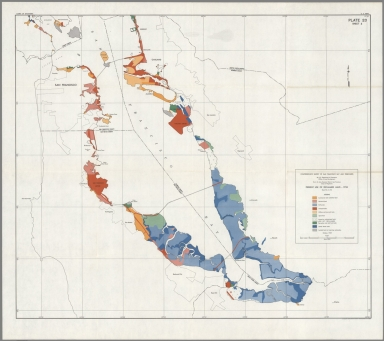 Plate 20, Sheet 2. Present Use of Reclaimed Land - 1958.