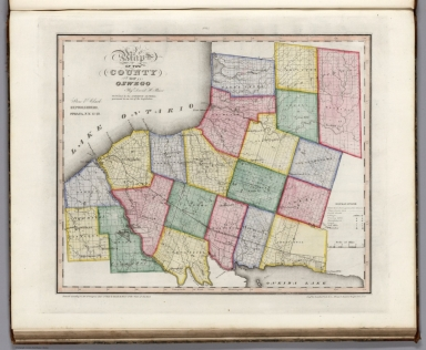 Map Of New York Oswego.Browse All Images Of Oswego County 28n Y 29 David Rumsey