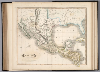 Mexico & Guatimala, with the Republic of Texas