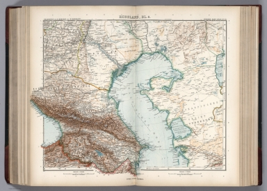 Browse All Atlas Map Of Caucasus David Rumsey Historical Map - Caucus map