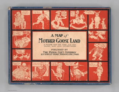 Covers: A Map of Mother Goose Land.
