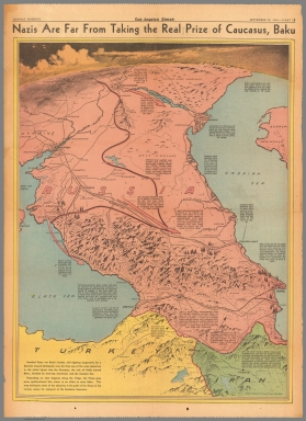 Nazis are far from taking the real prize of Causasus, Baku