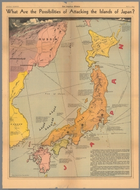 What are the possibilities of attacking the Islands of Japan