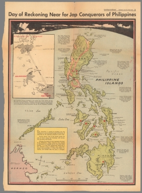 Day of reckoning near for Jap conquerors of Philippines
