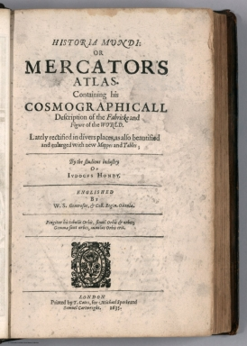 2nd. Title Page: Historia mundi: or Mercator's atlas