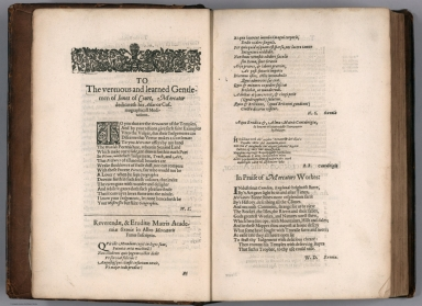 Text Page: To the vertuous and learned Gentlemen of Innes of Court ...