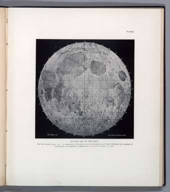 Plate J: Mayer's map of the moon