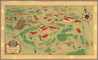 Atlanta campus : Emory University 1940-1941