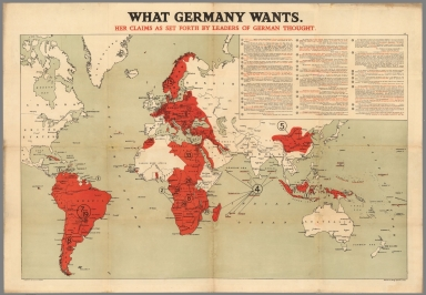 What Germany wants. Her claims as set forth by leaders of German thought.