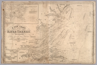 A new chart of the River Thames. With its entrances