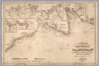 A new chart of the East Coast of England and Scotland