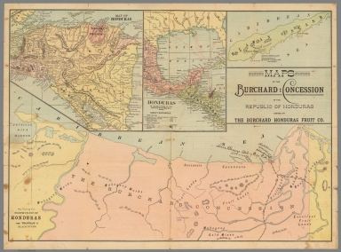 Browse all images of honduras david rumsey historical map collection maps of the burchard concession in the republic of honduras gumiabroncs Gallery