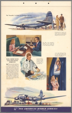 """Text Page: The """"Someday"""" of global air transport services is actually here today!"""