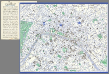 Map of Paris : Where to go sightseeing