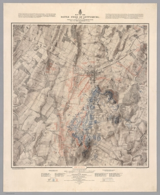 Browse All Images From Us Civil War David Rumsey Historical - Us-civil-war-map-of-battles