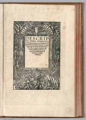 Text Page: Descriptio Orbis generalis