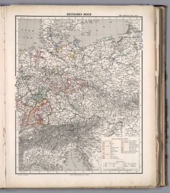 Browse all atlas map of germany from 1884 david rumsey sohr karl berghaus h deutsches reich 1884 world atlas gumiabroncs Images