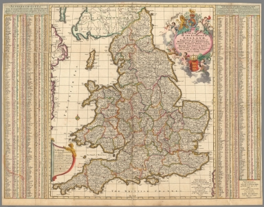 Browse all world atlas and atlas map of england david rumsey a new mapp of the kingdome of england gumiabroncs Choice Image