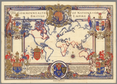 The Commonwealth of Nations or, The British Empire