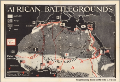 Browse all pictorial map from world war ii david rumsey african battlegrounds gumiabroncs Images