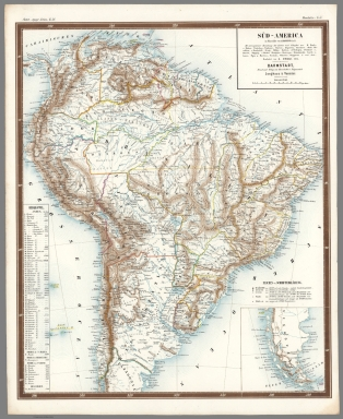 Browse all world atlas and atlas map of south america david sued america gumiabroncs Choice Image