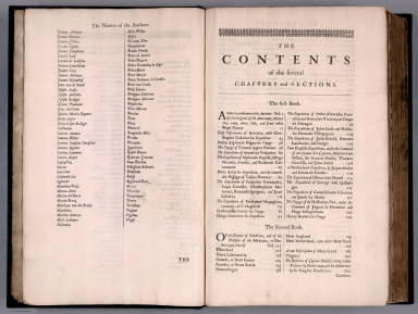 Index Page: A Catalogue ... (continued). The Contents ....