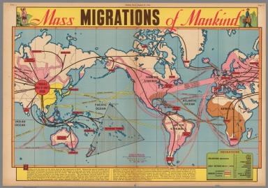 Mass Migrations of Mankind. August 27, 1944.