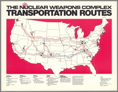 The Nuclear Weapons Complex Transportation Routes.