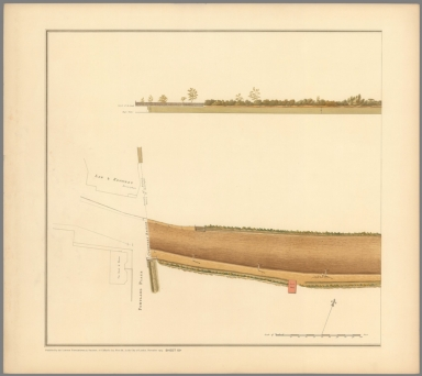 Sheet No. 15a. Plan of the Road from Hyde Park Corner to Counter's Bridge.