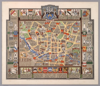 Leeds from A.D. 1626 - the year of the Royal Charter granted by King Charles the First.