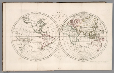 The world with all the modern discoveries