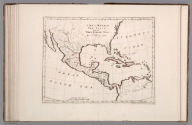 New Mexico New Spain with the West Indian Islands