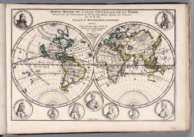 Map of the World or General Map of the Earth.