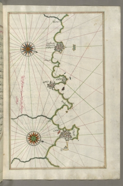 fol. 270b Algerian coastline around Algiers