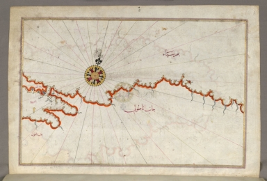 fol. 371a Coastline of the Black Sea from Istanbul to Geresun