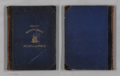 Covers: Philips' Mercantile Marine Atlas of The World