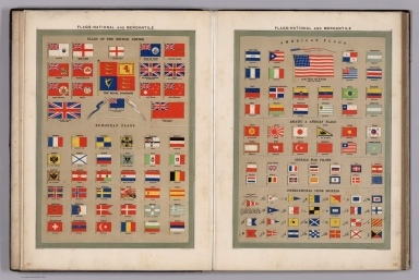 Flags-National and mercantile